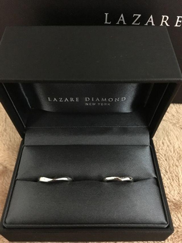 出来上がりの結婚指輪