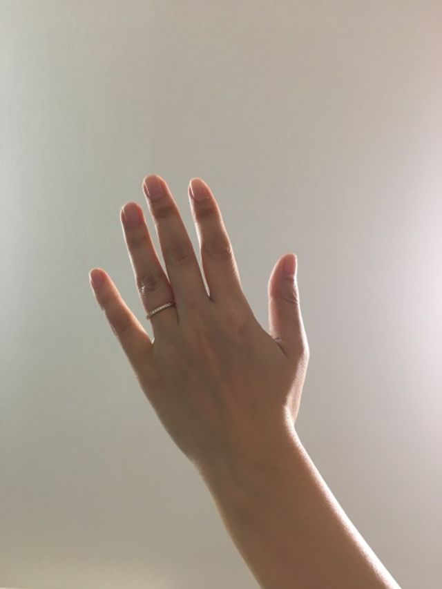 結婚指輪購入しました。