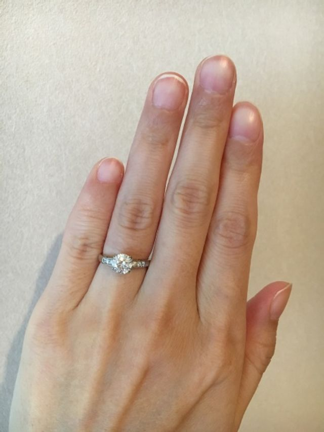 quality design 077d7 d9511 婚約指輪ということでオーソドックスな一粒ダイヤをみて回りまし ...