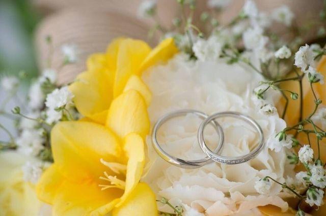 結婚式のときの写真です♪