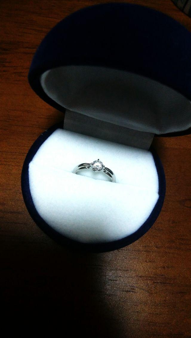 沢山のダイヤの中から選べました。