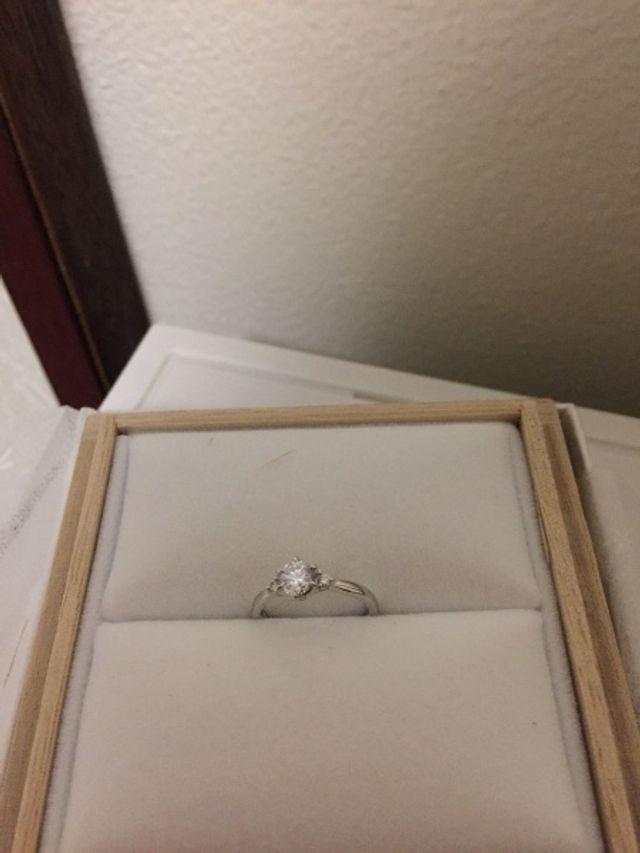 メレダイヤが付いています