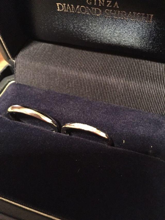 店員さんがとても親切で、色々な種類のリングを見れました。