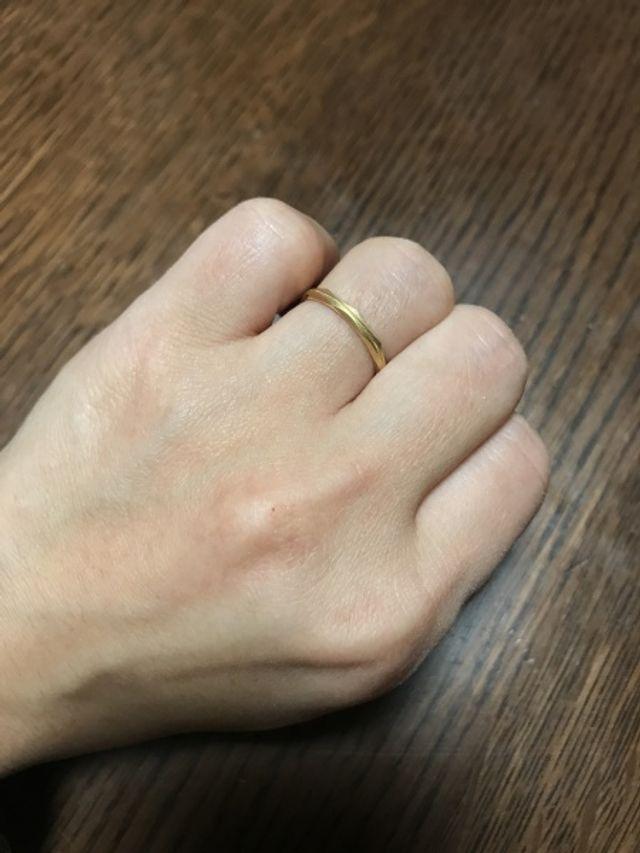 結婚10年目で、一度失くした結婚指輪を買い直しました。