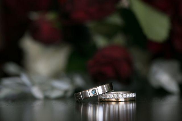 ブルーダイヤとエタニティ,4mm幅,フルーオーダー