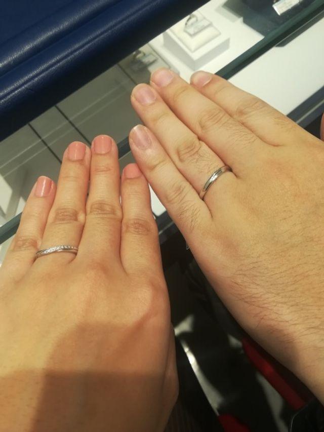 結婚指輪これにしました!!
