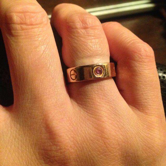 e0f05b5ade3c4 前から憧れていたラブリングで、結婚指輪か婚約指輪に欲しいとずっと思っ ...