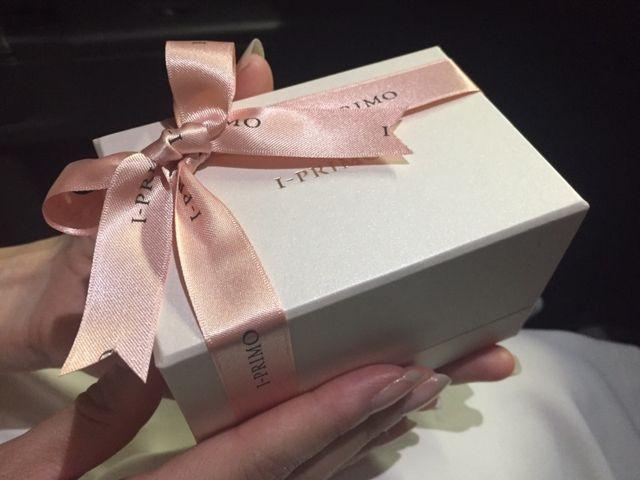 可愛らしい箱です!中に主人の指輪と並んで入っています♡