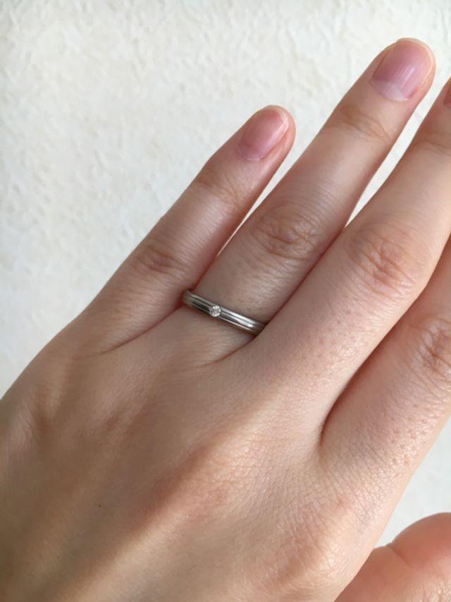 指がきれいに見えると褒めてもらえました。