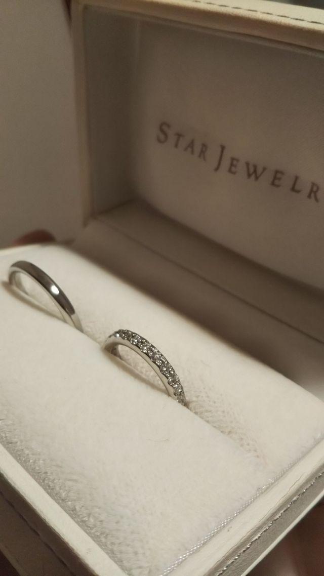 ダイヤが敷き詰められたデザインに一目惚れ!