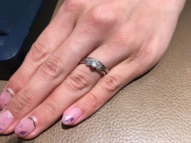 ロイヤルアッシャーの指輪です!