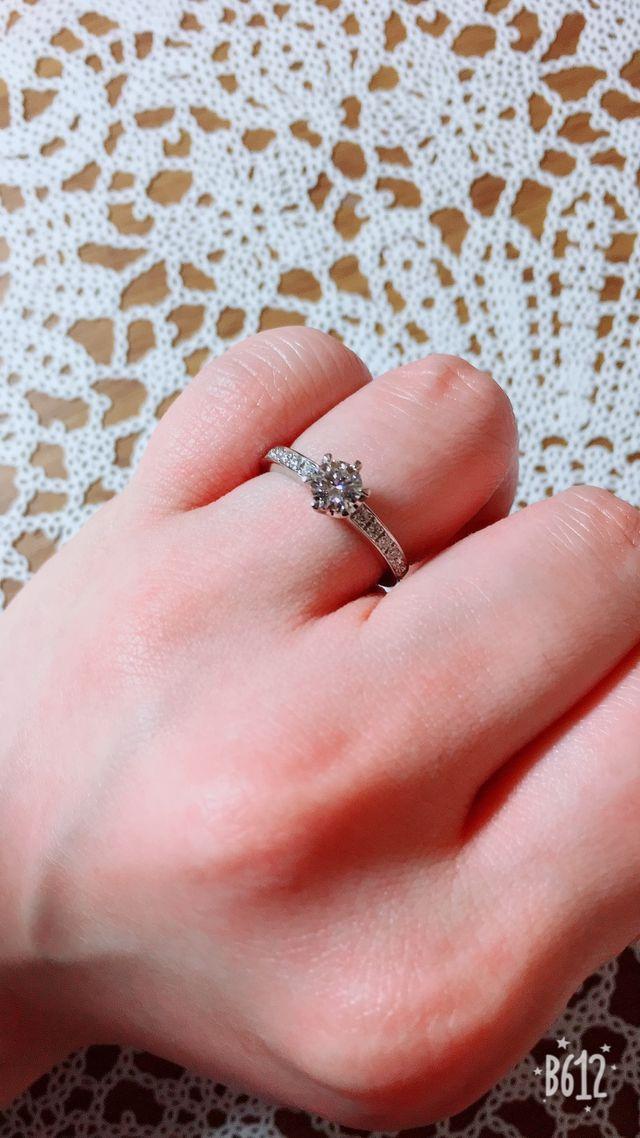 ダイヤモンドがすごく綺麗です*。