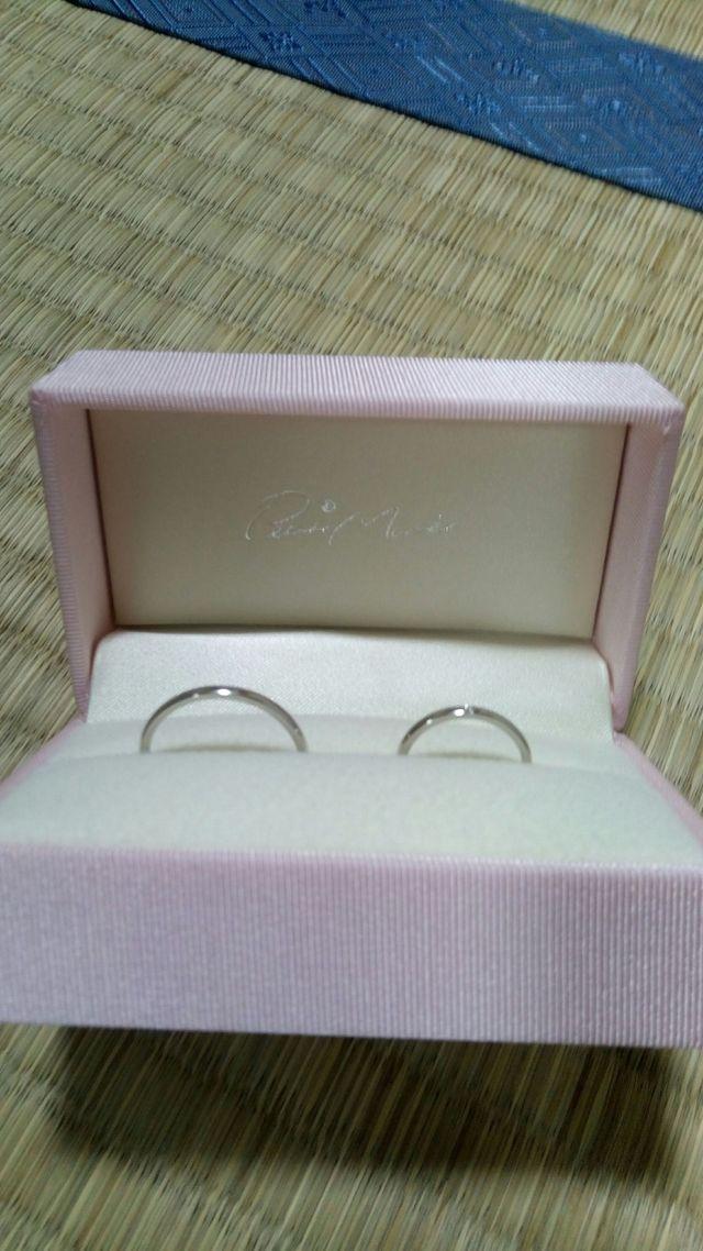 プラチナ950  プチマリエ 結婚指輪