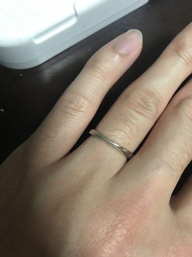 購入した指輪①
