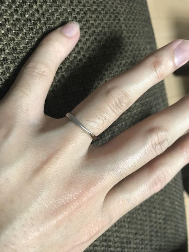 購入した指輪②