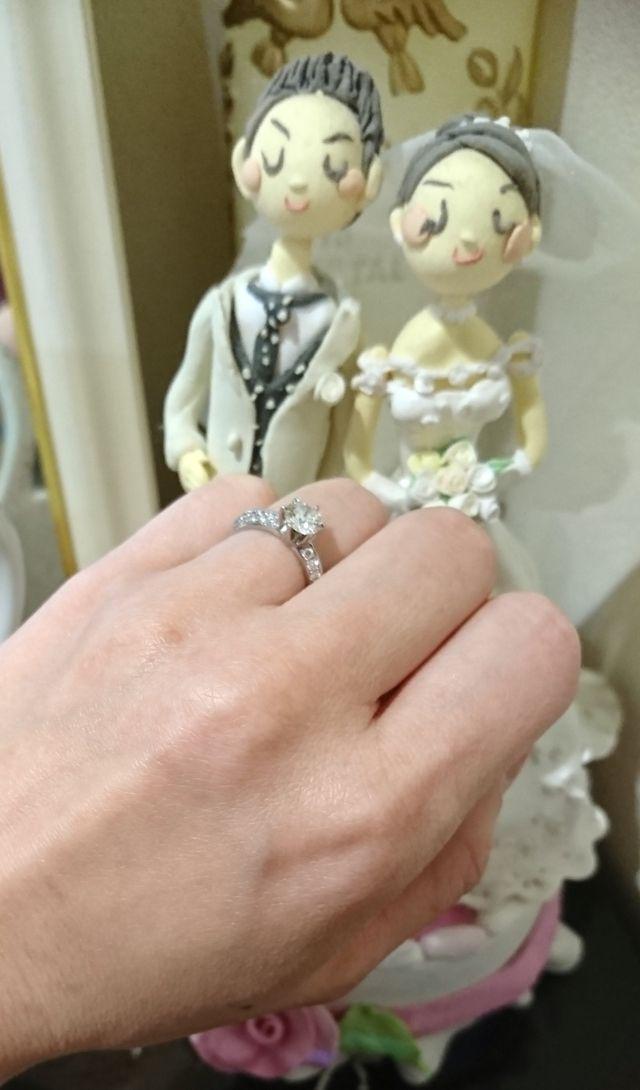 結婚祝いにいただいたドールと共に