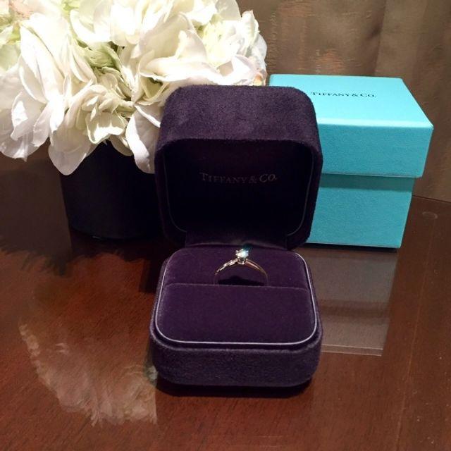 憧れのティファニーの婚約指輪