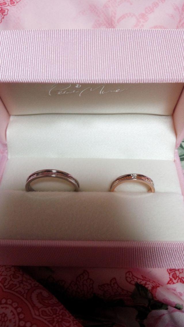 ~*+♡結婚指輪ペア♡+*~