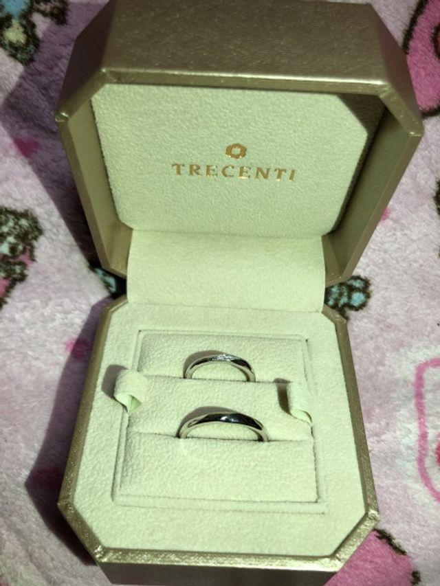 トレセンテで結婚指輪