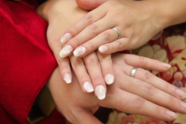 クリスチャン・バウアーの結婚指輪です。