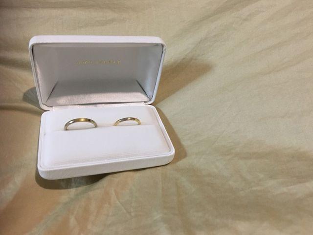 人生で初めてオーダーメイドの指輪を作って頂きました。
