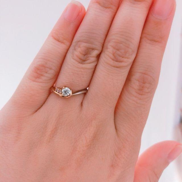 婚約指輪プレゼントしました!