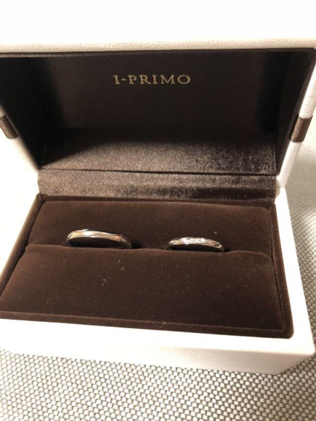 結婚指輪を購入。