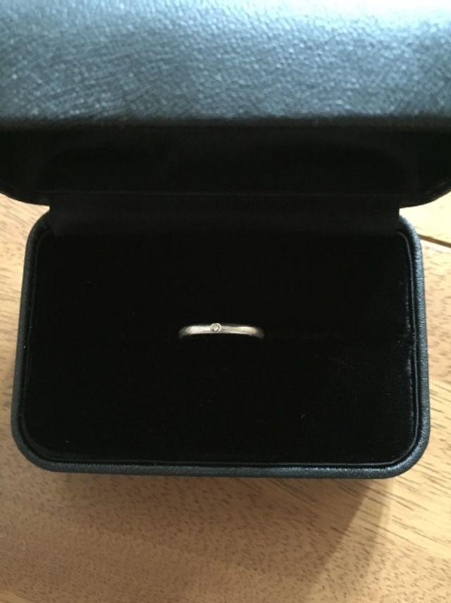 私の指輪です。