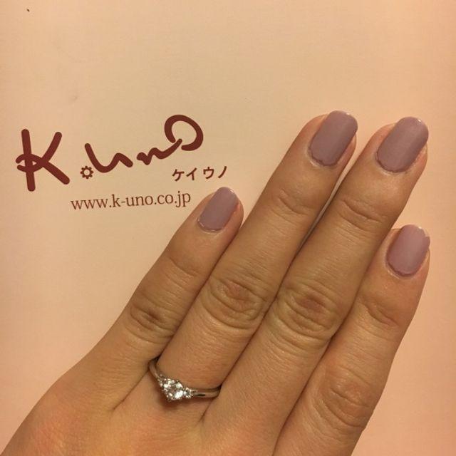 婚約指輪が完成しました!