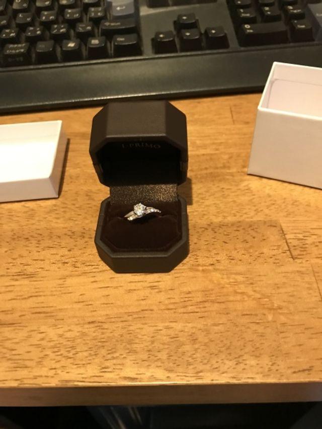 プロポーズする前に撮った写真です。