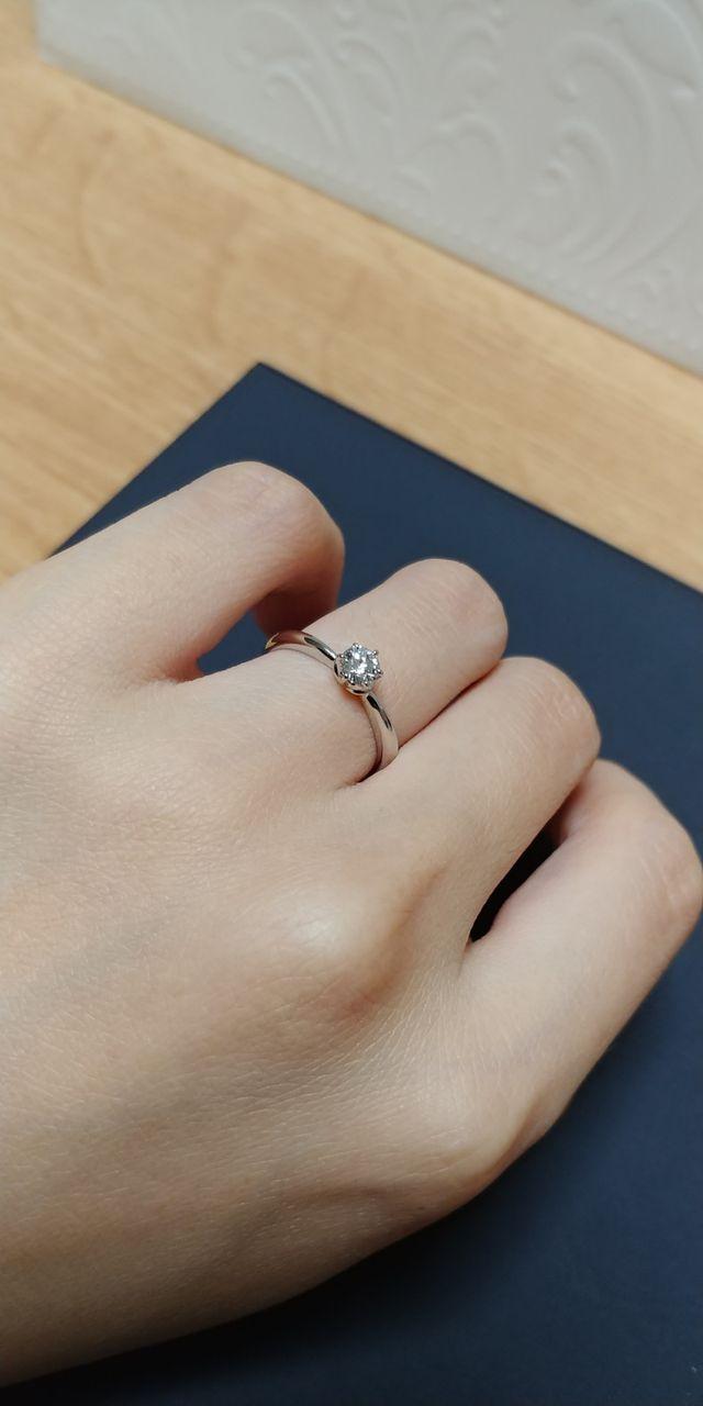 ハダル-S 9号の婚約指輪です。