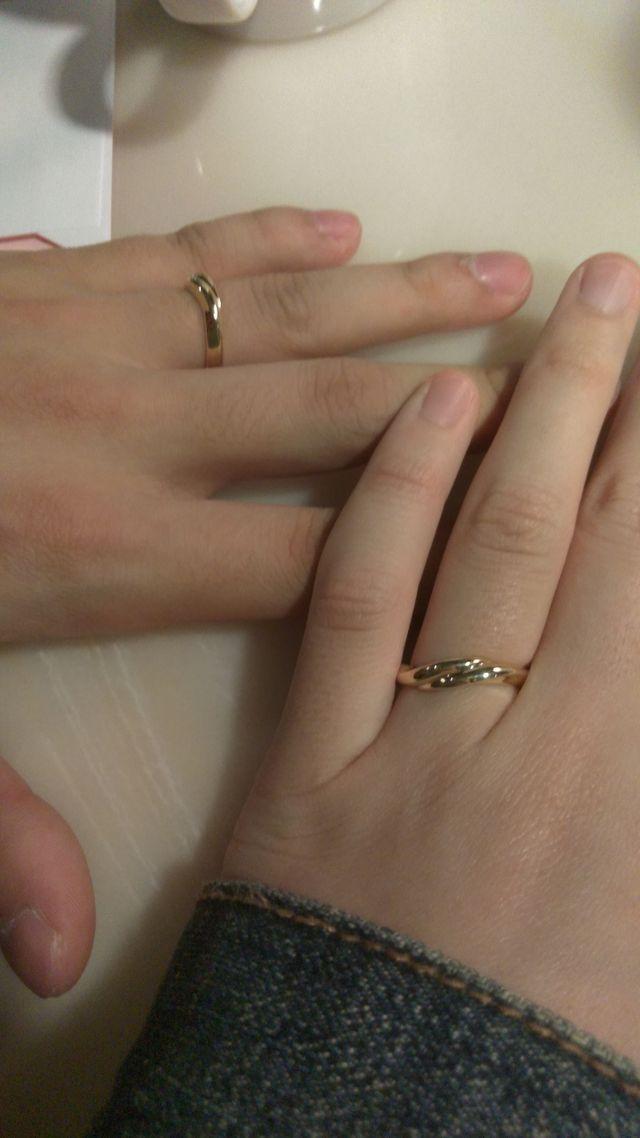 オーロラという指輪です。