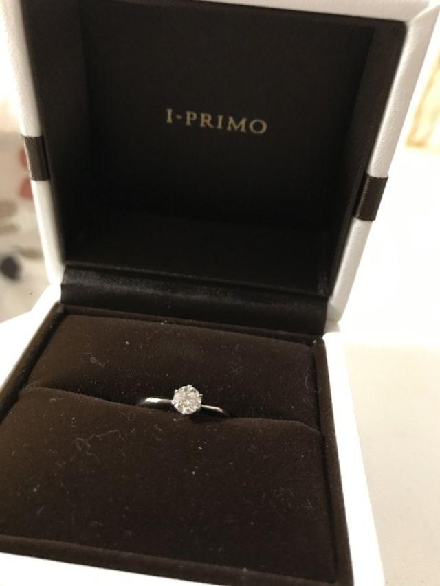 きらきら。婚約指輪。