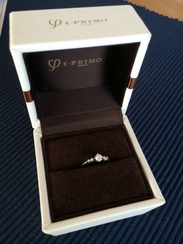 箱に入った指輪