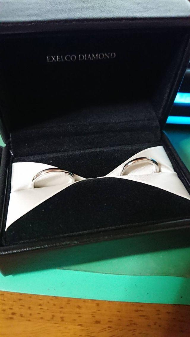 購入したリングです。