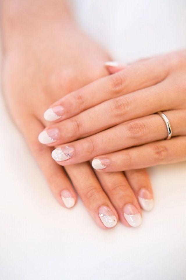 シンプルな結婚指輪がお気に入り