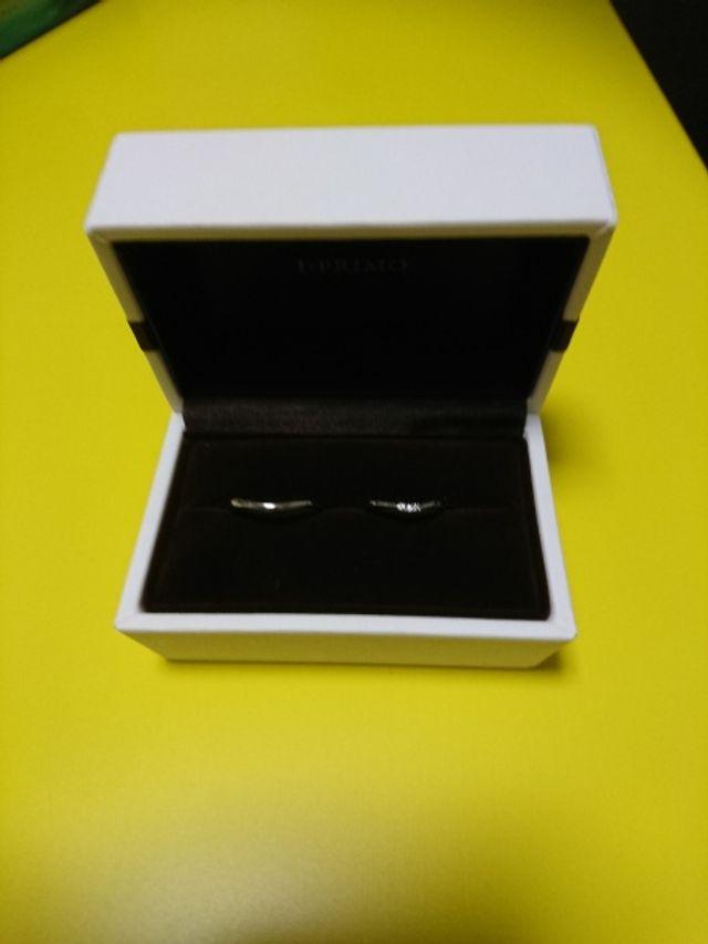 結婚指輪買いました。