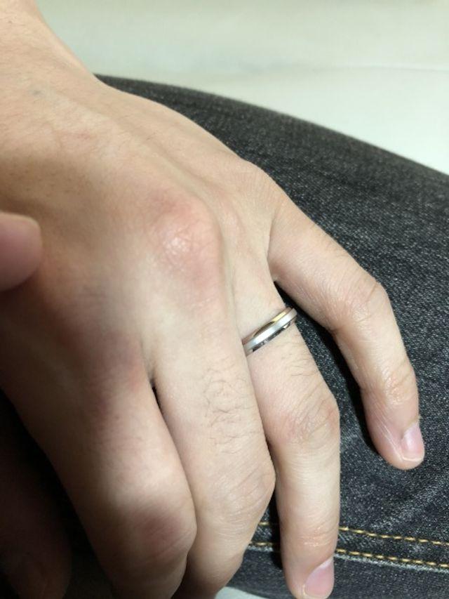 こちらはパートナーの指輪です。