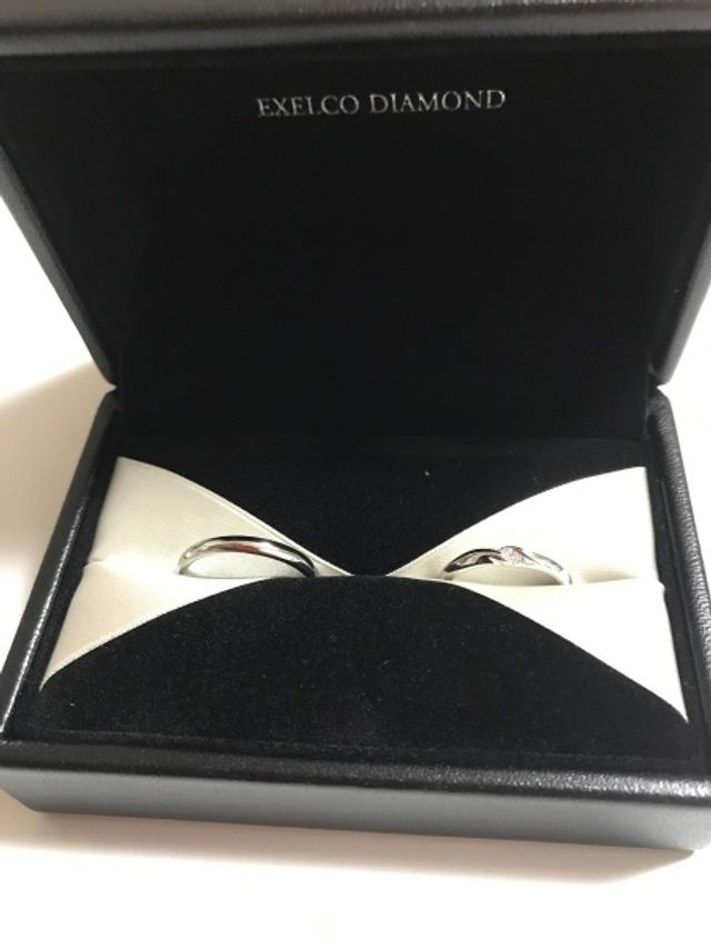 結婚指輪として購入。
