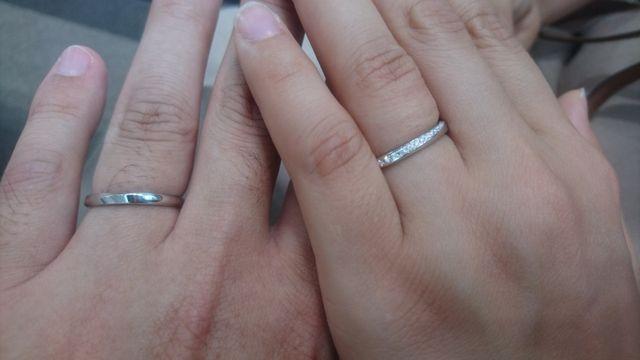 アイプリモ佐賀市で結婚指輪にプシュケーを購入
