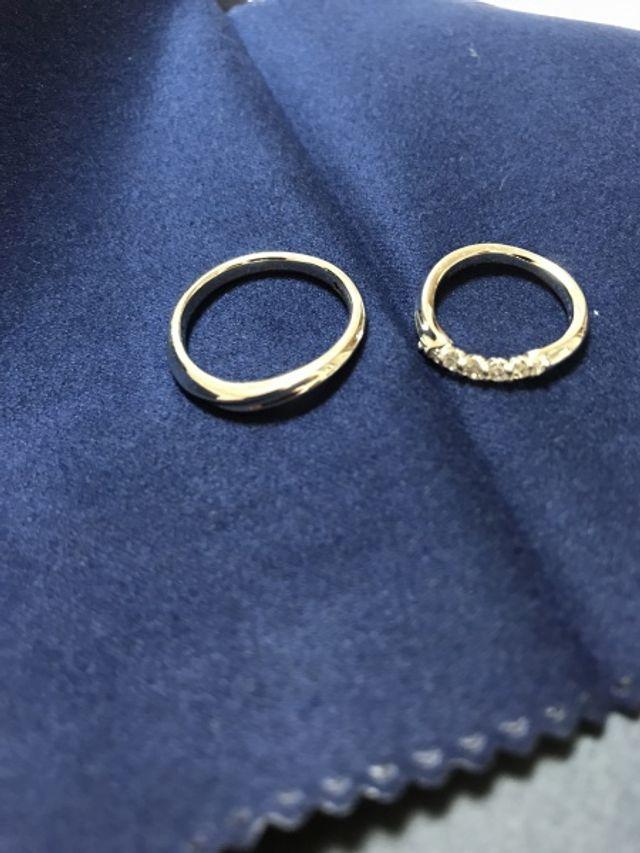 結婚指輪を買いました。非常に良い出来で満足です。