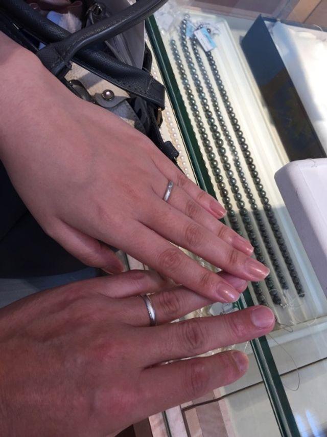 素敵な指輪です。