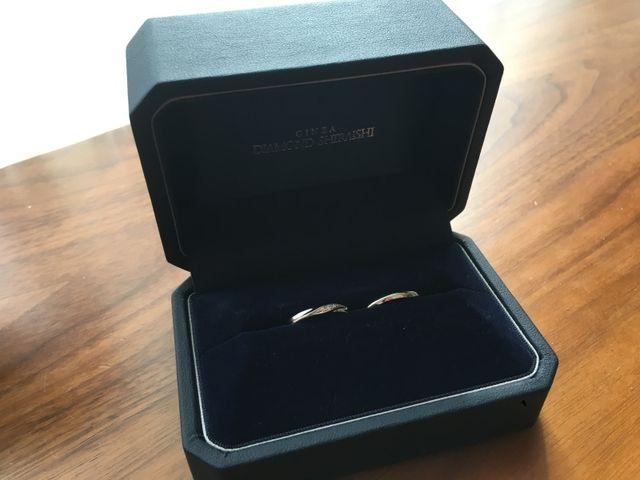 結婚指輪ケースはこのような感じ
