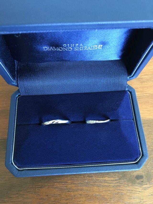 セミオーダーで結婚指輪を購入!