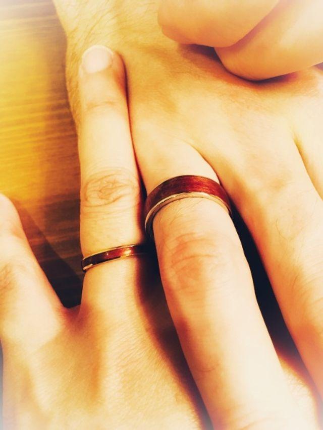 1/f (エフブンノイチ) 屋久杉千年指輪