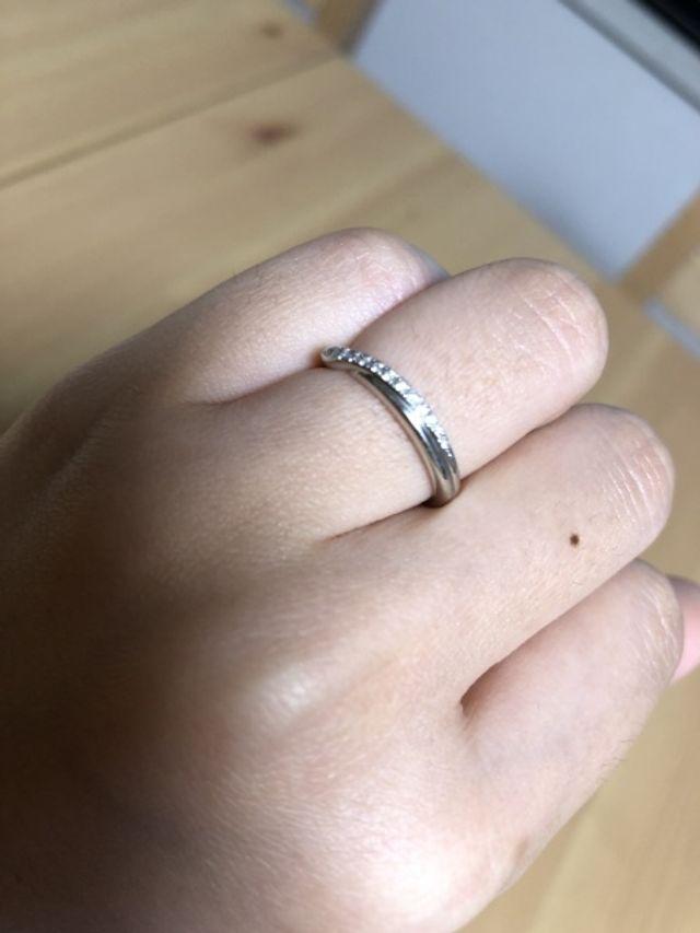 ダイヤモンドシライシの結婚指輪