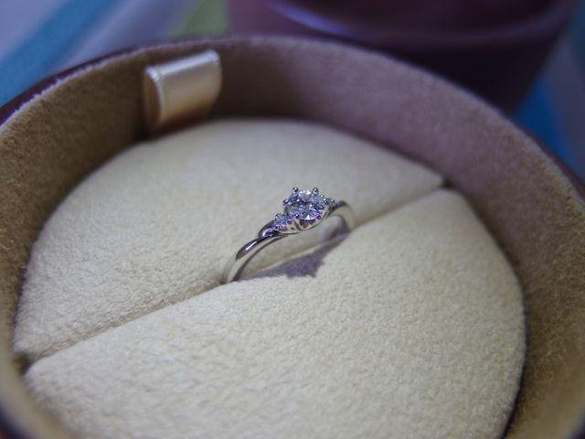 プロポーズ成功後、改めて撮りました