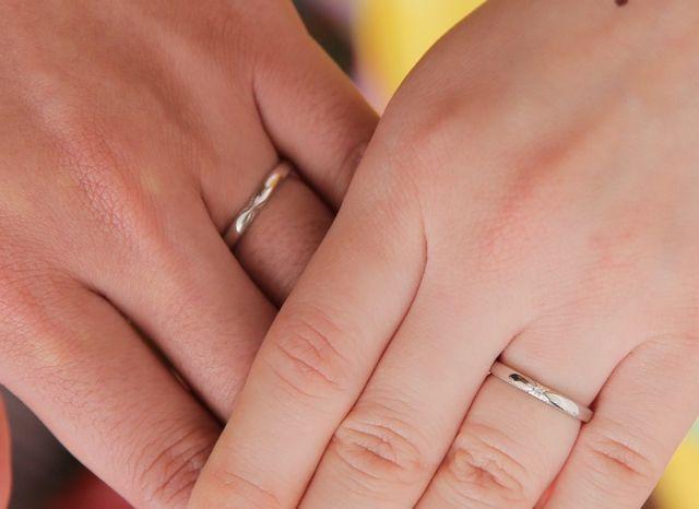 気に入る指輪が見つかって満足です!