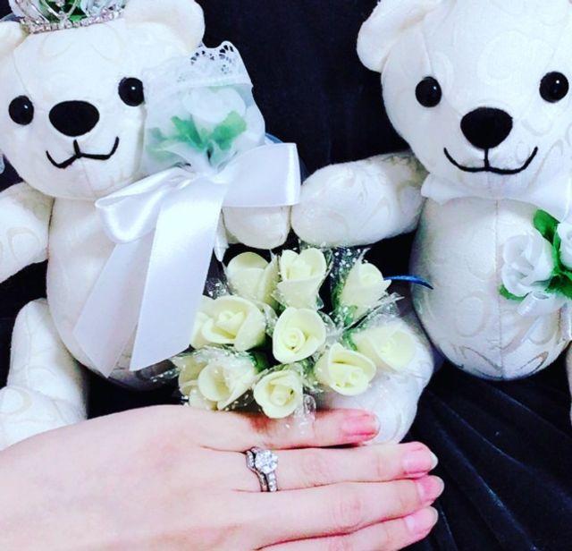 結婚指輪との重ねづけ