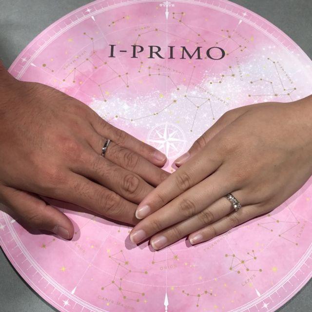 婚約指輪は、シリウス。結婚指輪は、プシュケーです。